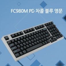 레오폴드 FC980M PD 차콜 블루 영문 저소음적축