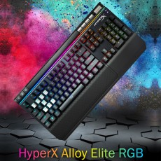 HyperX Alloy Elite RGB 키보드 영문 클릭(청축)
