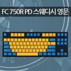 레오폴드 FC750R PD 스웨디시 블랙 영문 실버(스피드축)