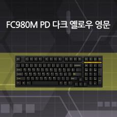 FC980M PD 다크 옐로우 영문 넌클릭(갈축)